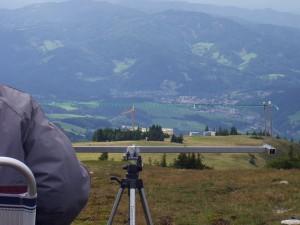 Staatsmeisterschaft F3F am Stuhleck - Martin Ziegler beim Landeanflug