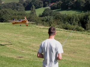 Schauflugtag 2009 - Landeanflug
