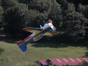 Schauflugtag 2009 - Rückenflug