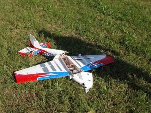 Schauflugtag 2009 - Manchmal halten die Maschinen den Belastungen nicht stand!