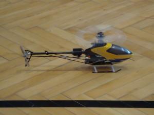 6.3.2010 Hallenfliegen in Breitenfurt - Hubschrauber