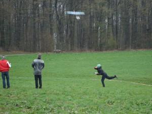 11.4.2010 F3K Bewerb, Wurf