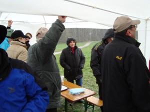 11.4.2010 F3K Bewerb, Starker Regen macht das Leben schwer!