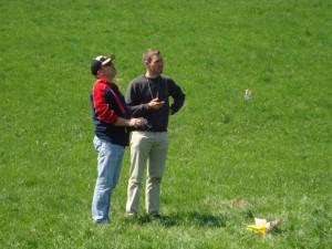 17.4.2010 Zeitfliegen - Arthur und Martin