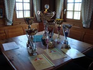 29.8.2010 F3F Staatsmeisterschaft auf der Sommeralm - Die Pokale
