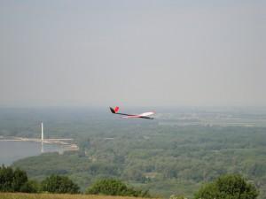 21.5.2011 1. Fliegen am Braunsberg - Westseite