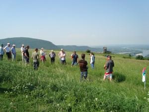 21.5.2011 1. Fliegen am Braunsberg - Westseite Pilotenbesprechung