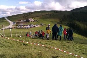 8.5.2011 1. Almenland Race - Sommeralm NNW-Hang neben der Stoakoglhütte