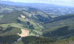 8.5.2011 1. Almenland Race - Sommeralm NNW-Hang Talblick