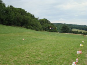 23.6.2011 1. Ziellanden 2. Klubcup - Landeanflug
