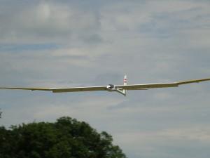 23.6.2011 1. Ziellanden 2. Klubcup - Landeanflug mit Klappen