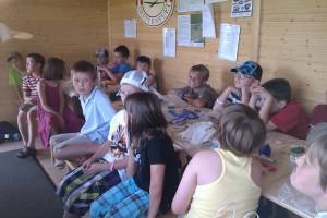 13.7.2011 1. Fliegerbasteln mit den Schülern - Einleitung