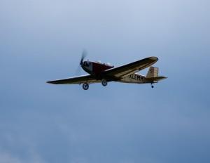 """15.8.2011 50 Jahre MFK-B - Flugshow - Modell """"Klemm 20"""" 50ccm"""