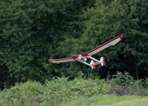 15.8.2011 50 Jahre MFK-B - Flugshow - Vulcano mit Zuckerllast