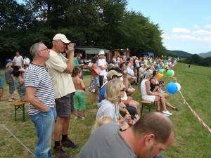 15.8.2011 50 Jahre MFK-B - Flugshow - Zuseher