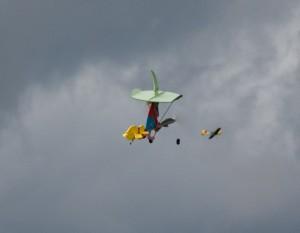 15.8.2011 50 Jahre MFK-B - Flugshow - Hexen jagen die Flieger im Sturm