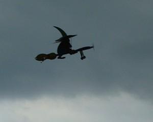 15.8.2011 50 Jahre MFK-B - Flugshow - Auch die letzte Hexe verschwindet vom Himmel