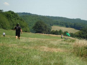 2.Klubcup Ziellanden - Seilrückholer bei 38° im Schatten
