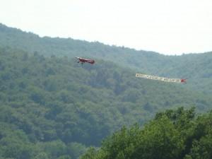 Schülerwettbewerb - Bannerflug