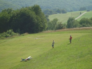 Schülerwettbewerb - Landung