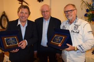 Jahresabschlussfeier - Die Geehrten mit dem Präsidenten des LV-NÖ im ÖAeC, Ing. Roland Dunger