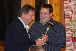 Jahresabschlussfeier - MFK-Klubcup Wanderpokalübergabe