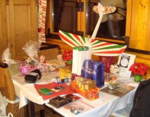 Jahresabschlussfeier - Tombolapreise