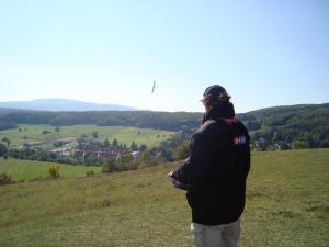30.09.20173. MFK Klubbewerb 2017 - Einflug in die Strecke kurz nach der Wende
