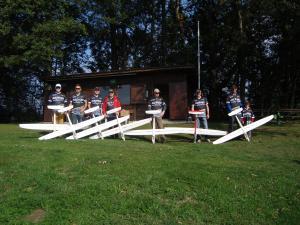 23.09.2017 Soliusbewerb 2017 - Piloten mit ihren Solius der Firma Multiplex